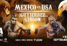 Uitslagen : Combate Americas 44 : Guadalajara
