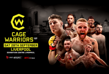 Uitslagen : Cage Warriors 107 : Aspinall vs. Ben Hamouda