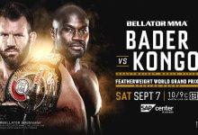 Uitslagen : Bellator 226 : Bader vs. Kongo