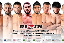 RIZIN FF 19 maakt Lightweight toernooi deelnemers bekend + meer