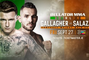 Bellator Dublin hoofdgevecht kent nieuwe tegenstander voor James Gallagher