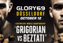 Marat Grigorian verdedigt titel in Dusseldorf tegen Tyjani Beztati