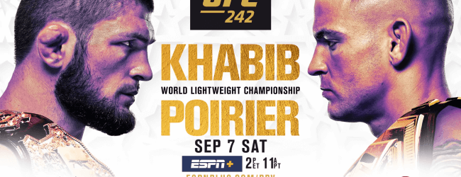 Uitslagen : UFC 242 : Khabib vs. Poirier