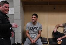 Manny Bermudez treft Charles Rosa tijdens UFC Boston