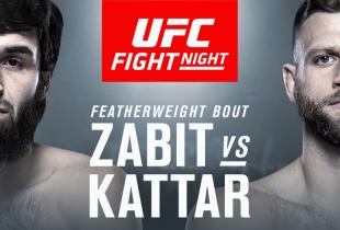Zabit Magomedsharipov vs. Calvin Kattar verschoven naar UFC Moskou evenement