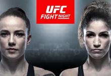 Rematch tussen Jessica-Rose Clark en Pannie Kianzad tijdens UFC Moskou