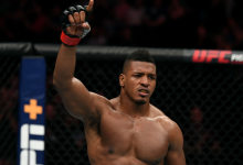 Ongeslagen Alonzo Menifield treft Trevor Smith tijdens UFC Washington