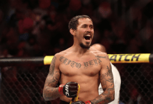 Marlon Vera treft Eddie Wineland tijdens UFC on ESPN 8 in Columbus