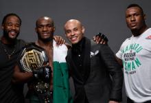 Kamaru Usman verdedigt Welterweight titel tegen Colby Covington tijdens UFC 245