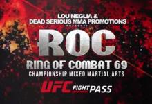 Uitslagen : Ring of Combat 69 : Pyfer vs. Foster