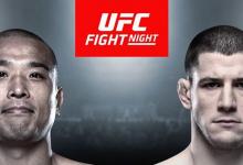 Jun Yong Park vs. Marc-André Barriault toegevoegd aan UFC Busan