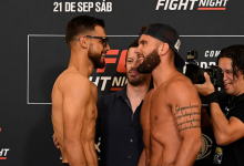 Yair Rodriguez vs. Jeremy Stephens II is het Co-Main Event voor UFC Boston