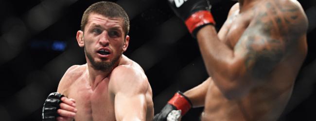 Zelim Imadaev treft Danny Roberts tijdens UFC Moskou in Welterweightclash