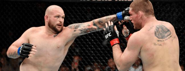 Jeff Hughes en Raphael Pessoa vechten voor eerste UFC overwinning in Singapore