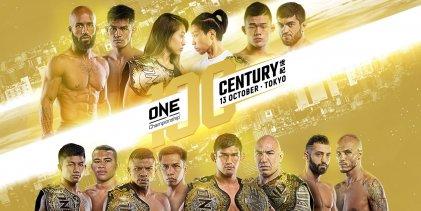 Uitslagen : ONE Championship 100 : Century (Part I)