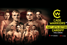 Uitslagen : Cage Warriors 108 : Jones vs. Mäntykivi