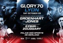 Uitslagen : GLORY 70 : Lyon