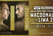Uitslagen : Bellator 232 : MacDonald vs. Lima 2
