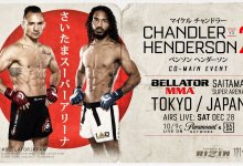Co-main event voor Bellator & Rizin Japan bekend gemaakt : Michael Chandler vs. Benson Henderson