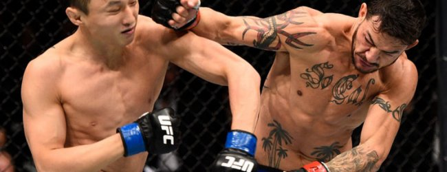 Doo Ho Choi vraagt om Cub Swanson rematch tijdens UFC Fight Night Busan