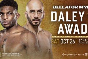 Saad Awad pakt short notice gevecht tegen Paul Daley aankomende zaterdag