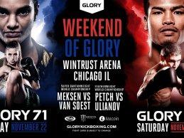 """GLORY Kickboxing komt met """"double-header"""" naar The Windy City"""