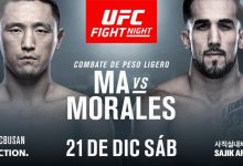 Dong Hyun Ma vecht in eigen land tegen Omar Morales tijdens UFC Busan