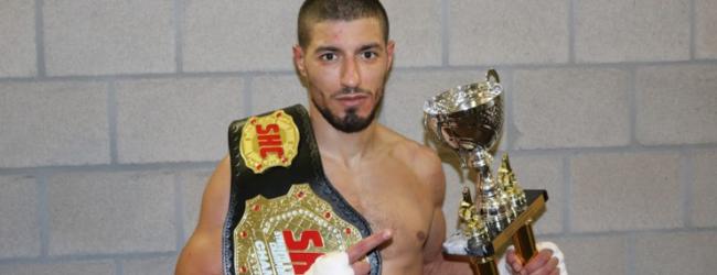 Video interview: Mehdi Amri is de nieuwe SHC Featherweight kampioen