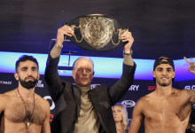 Video interviews: GLORY 69 wegingen