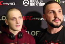 "Dimitrii Menshikov: ""We will get the belt very soon"""