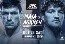 Uitslagen : UFC on ESPN+ 20 Singapore : Maia vs. Askren