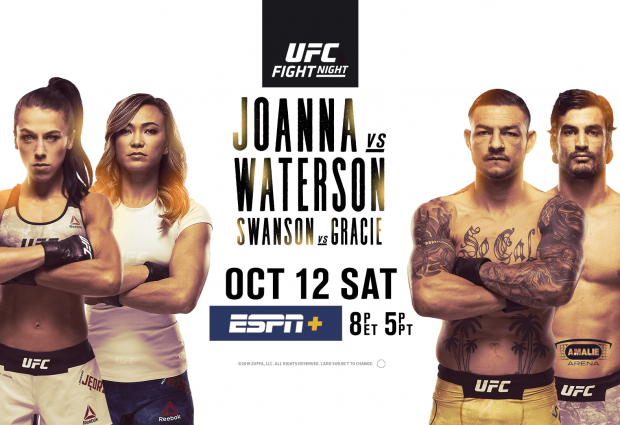Uitslagen : UFC on ESPN+ 19 Tampa : Jedrzejczyk vs. Waterson