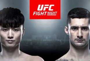 Doo Ho Choi gaat het opnemen tegen Charles Jourdain tijdens UFC Busan