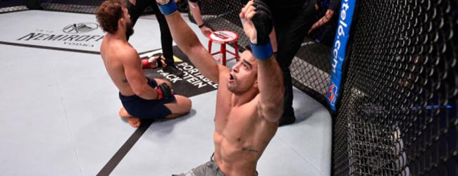 Wederom nieuwe tegenstander voor Antonio Arroyo tijdens UFC São Paulo