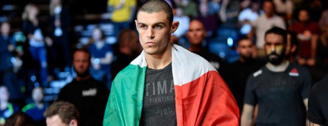 Alessio Di Chirico pakt short notice gevecht tegen Antonio Arroyo tijdens UFC São Paulo