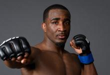 Geoff Neal clasht met Mike Perry tijdens UFC 245 in Las Vegas