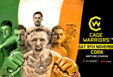 Uitslagen : Cage Warriors 110 : McKee vs. Foss