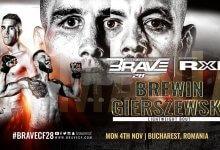 Uitslagen : Brave CF 28 : Brewin vs. Gierszewski