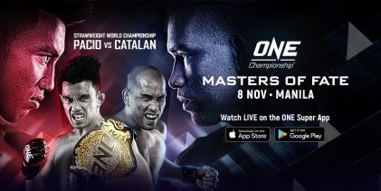 Uitslagen : ONE Championship 102 : Masters of Fate