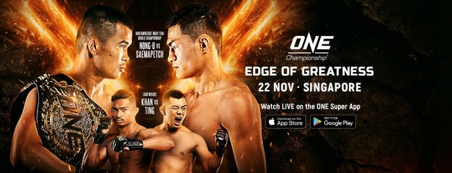 Uitslagen : ONE Championship 104 : Edge of Greatness