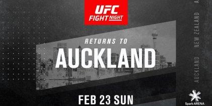 UFC keert voor derde keer terug naar Nieuw-Zeeland