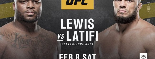 Ilir Latifi debuteert in Heavyweight divisie tegen Derrick Lewis tijdens UFC 247 in Houston