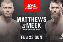 Drie nieuwe gevechten toegevoegd aan UFC Auckland evenement