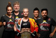 Valentina Shevchenko zet titel op het spel tegen Katlyn Chookagian tijdens UFC 247 in Houston