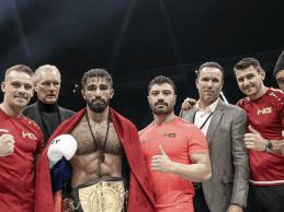 Marat Grigorian verdedigt titel tegen Elvis Gashi tijdens GLORY 73