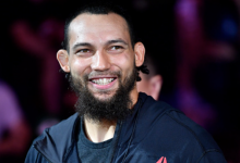 Justin Ledet treft Aleksa Camur tijdens UFC Raleigh in de Light-Heavyweight divisie