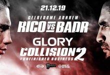 Rico Verhoeven tekent nieuw contract bij GLORY en vecht om titel tegen Badr Hari