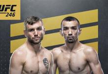 Flyweight gevecht tussen Timothy Elliott en Askar Askarov toegevoegd aan UFC 246 in Las Vegas