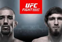 Barcelos vs. Nurmagomedov & Heili vs. Benoit toegevoegd aan UFC Busan
