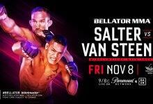 Uitslagen : Bellator 233 : Salter vs. Van Steenis